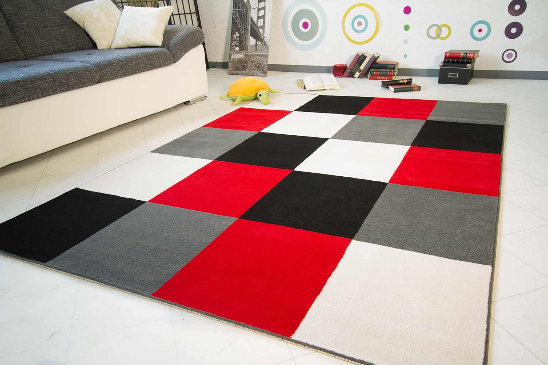 3 Größen 5 Muster Desinger Teppich Rimini GUT Siegel 24h Lieferung