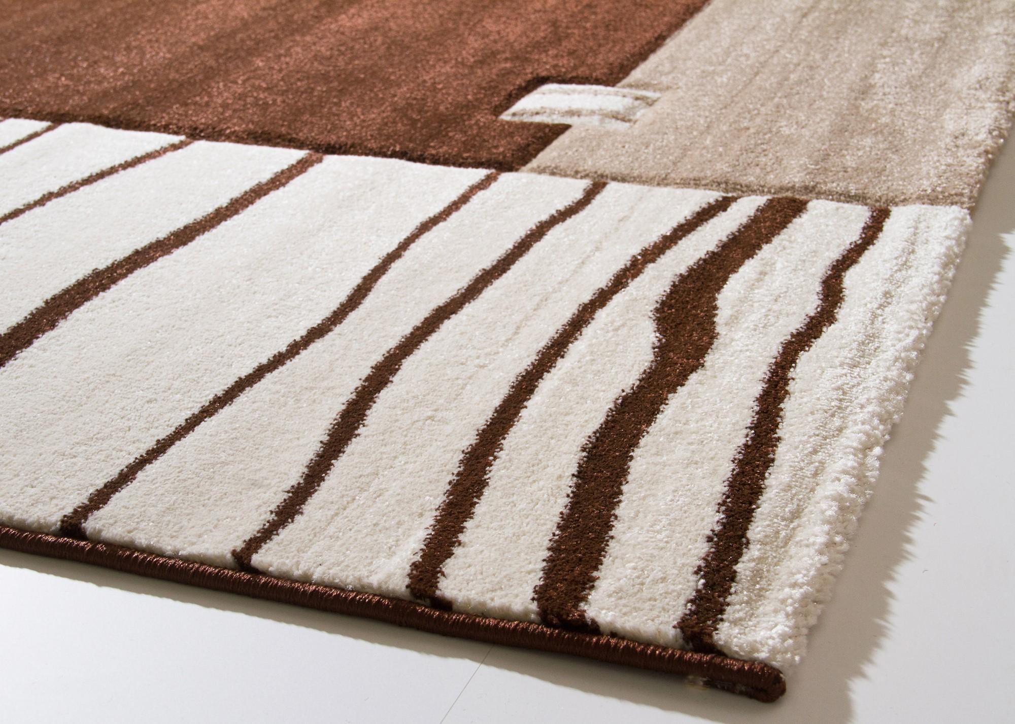 Teppich grün beige cm kurzflor malkara aus