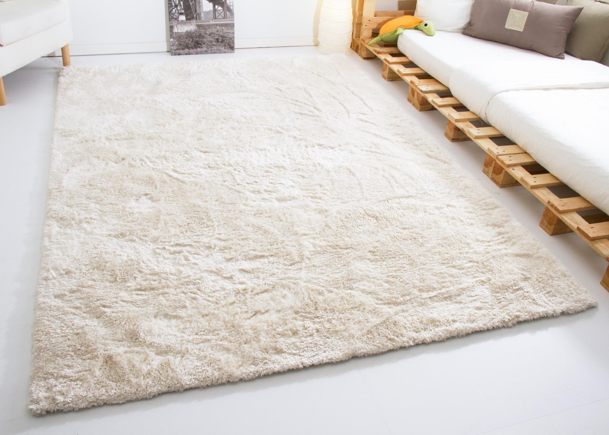 sch ner wohnen designer teppich harmony kuschelflor braun silber beige wei ebay. Black Bedroom Furniture Sets. Home Design Ideas