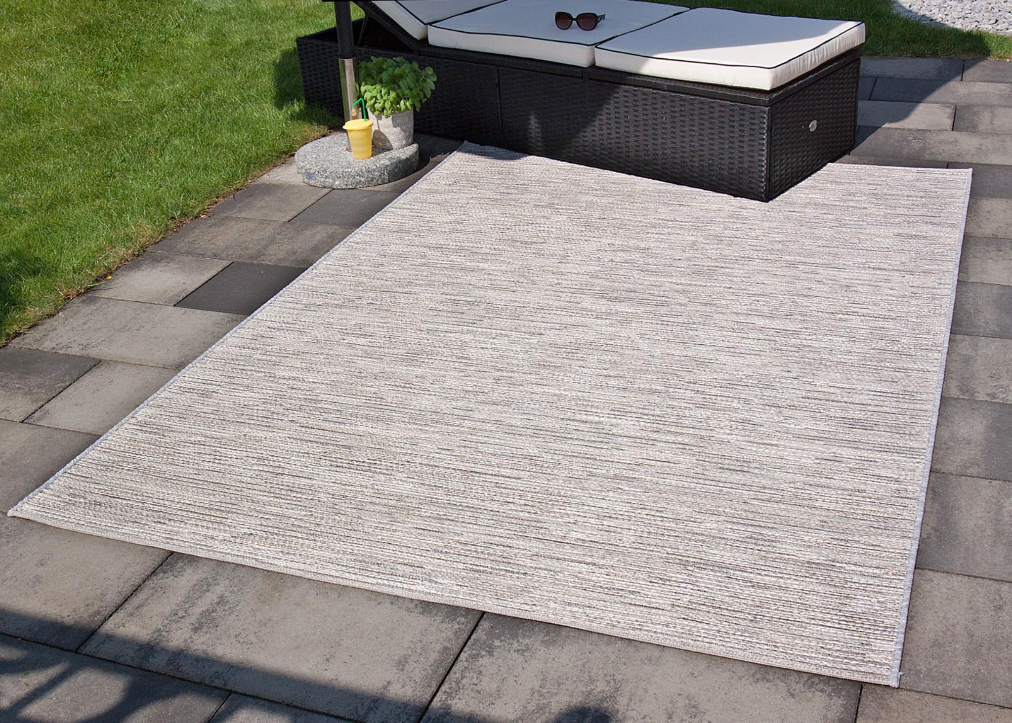 fab6663298cbbc In- und Outdoor Teppich Balkon Grau Türkis Gelb Rosa Mint Mandal   eBay