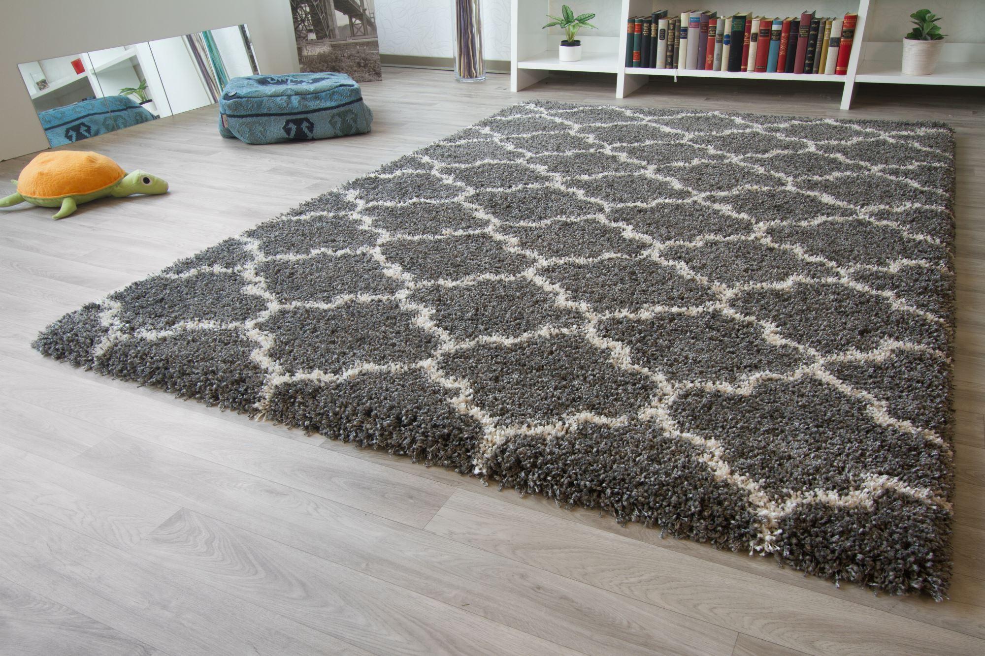 designer teppich modern marrakesch berber style raute floral neu ebay. Black Bedroom Furniture Sets. Home Design Ideas