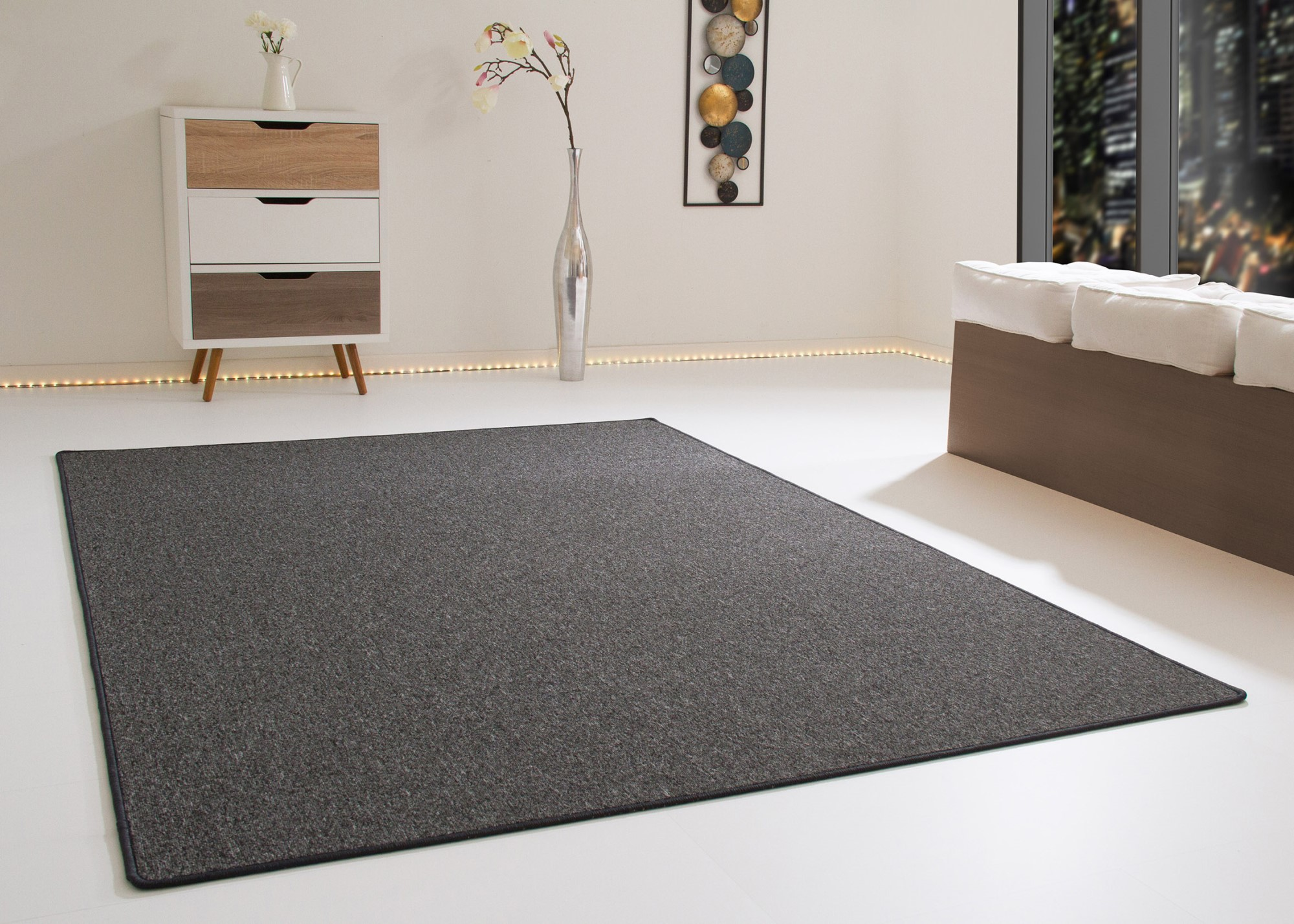 Moderner Wohnzimmer Teppich Meddon Sehr Pflegeleicht Und Strapazierfaehig