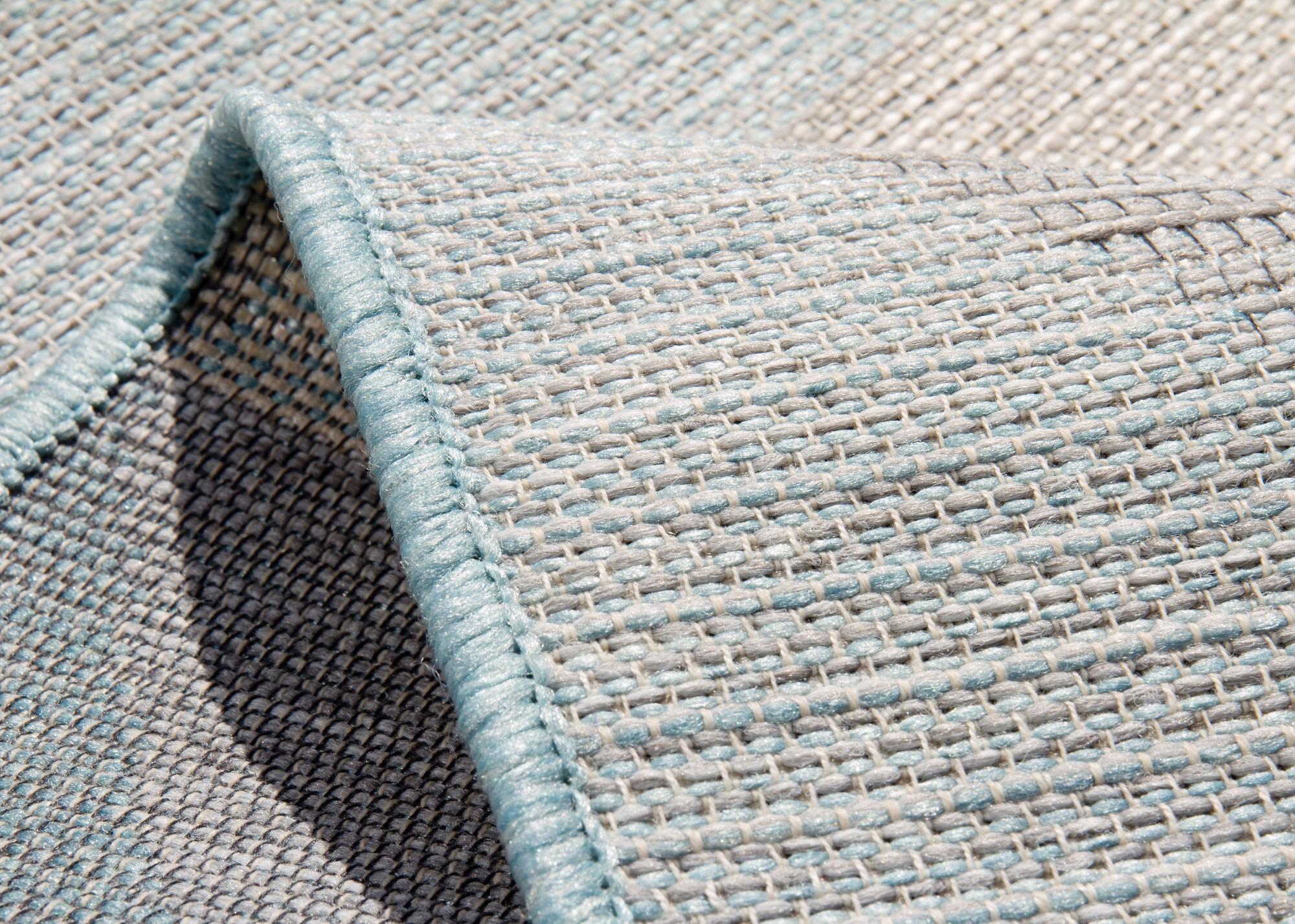 outdoor teppich balkon visby grau t rkis beige creme rosa. Black Bedroom Furniture Sets. Home Design Ideas