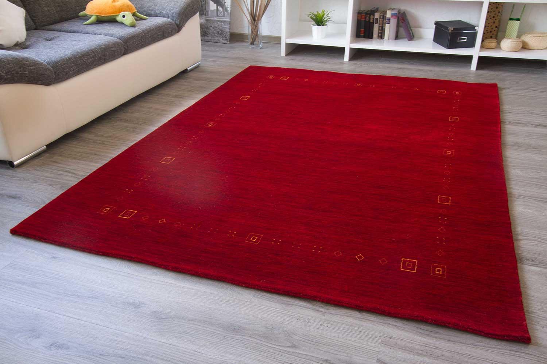 moderner gabbeh teppich tamia handgekn pft reine schurwolle in 3 farben neu ebay. Black Bedroom Furniture Sets. Home Design Ideas