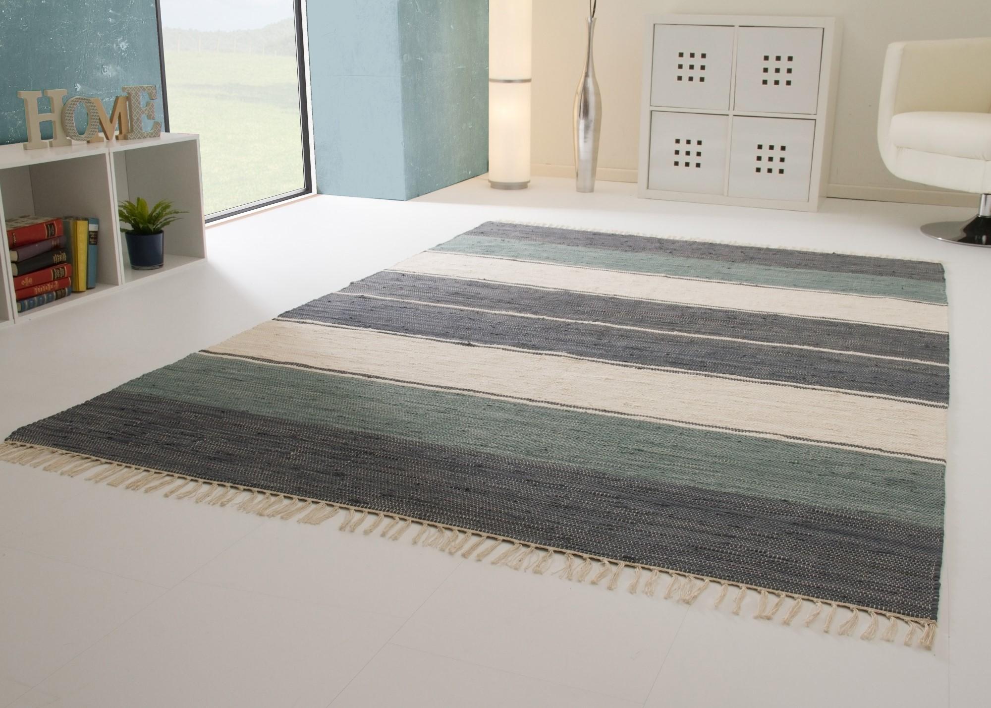 handwebteppich indira colour 100 baumwolle 4 farben handweb fleckerl waschbar ebay. Black Bedroom Furniture Sets. Home Design Ideas