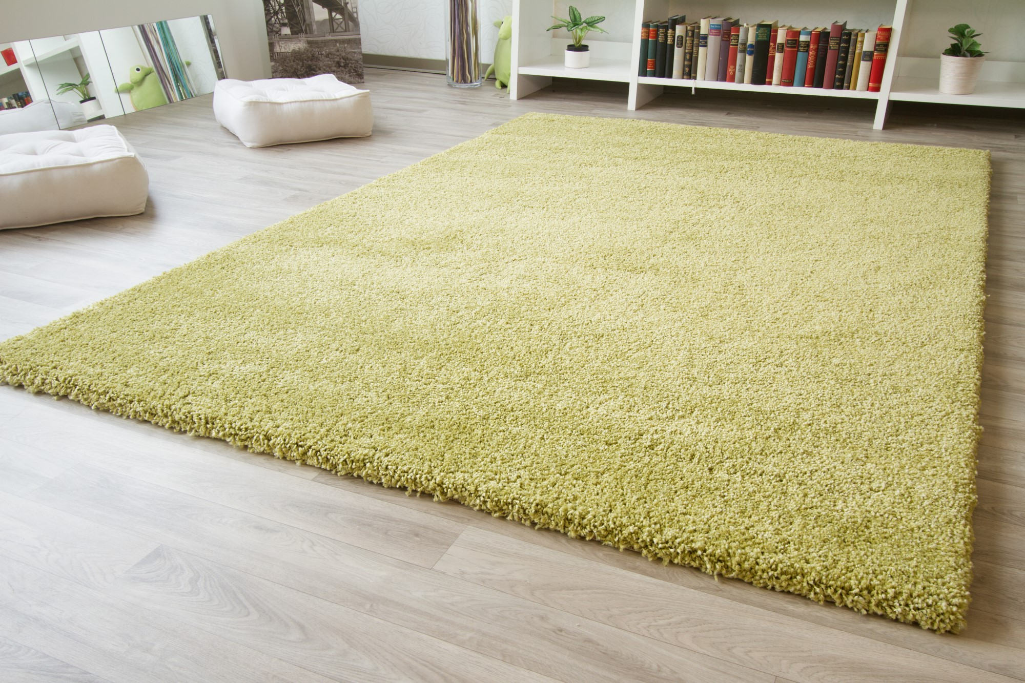 langflor hochflor teppich chamonix shaggy creme beige grau gr n braun rot t rkis ebay. Black Bedroom Furniture Sets. Home Design Ideas