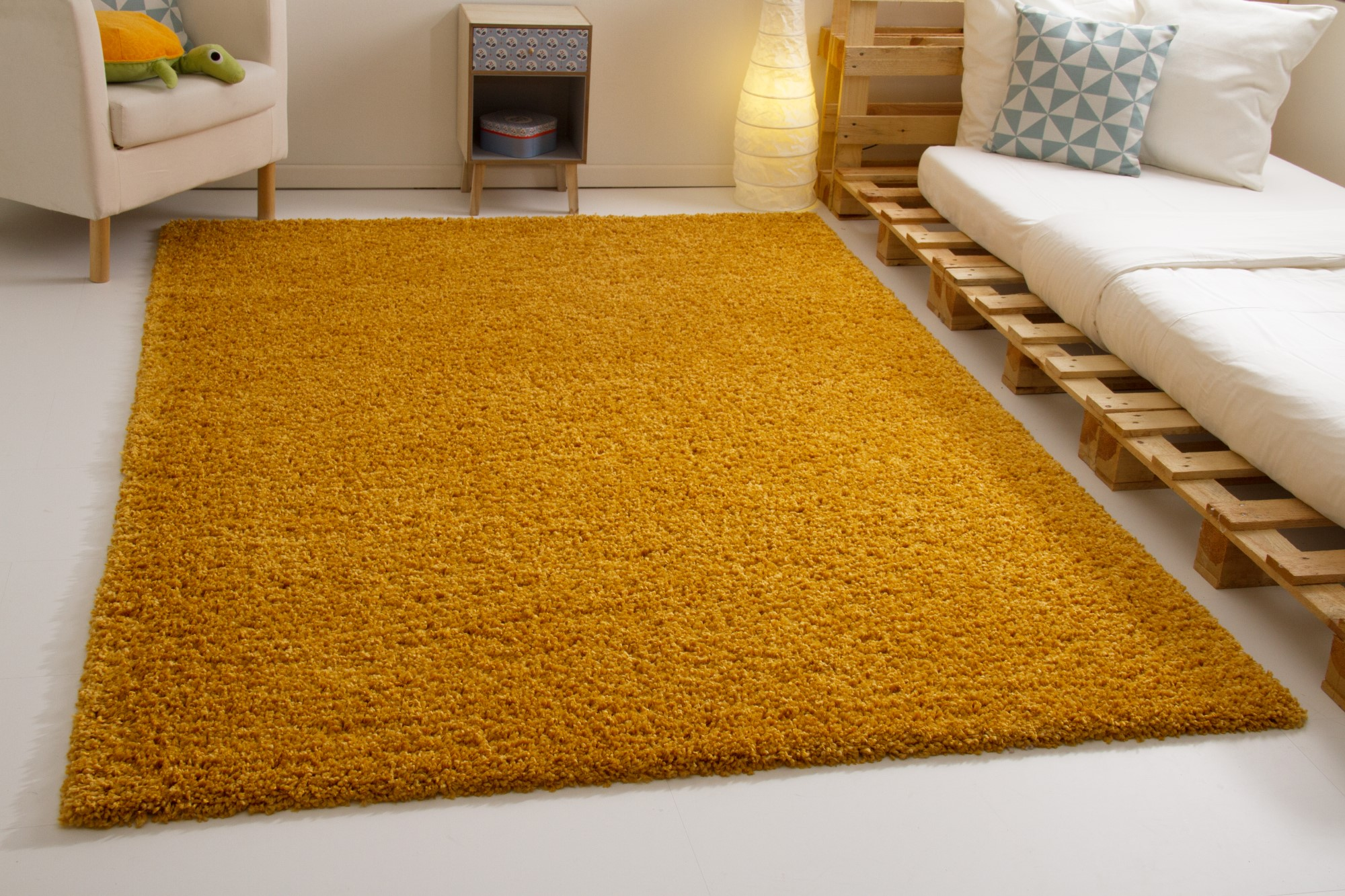 Shaggy Langflor Hochflor Teppich Funny Soft Touch 6 Farben 10