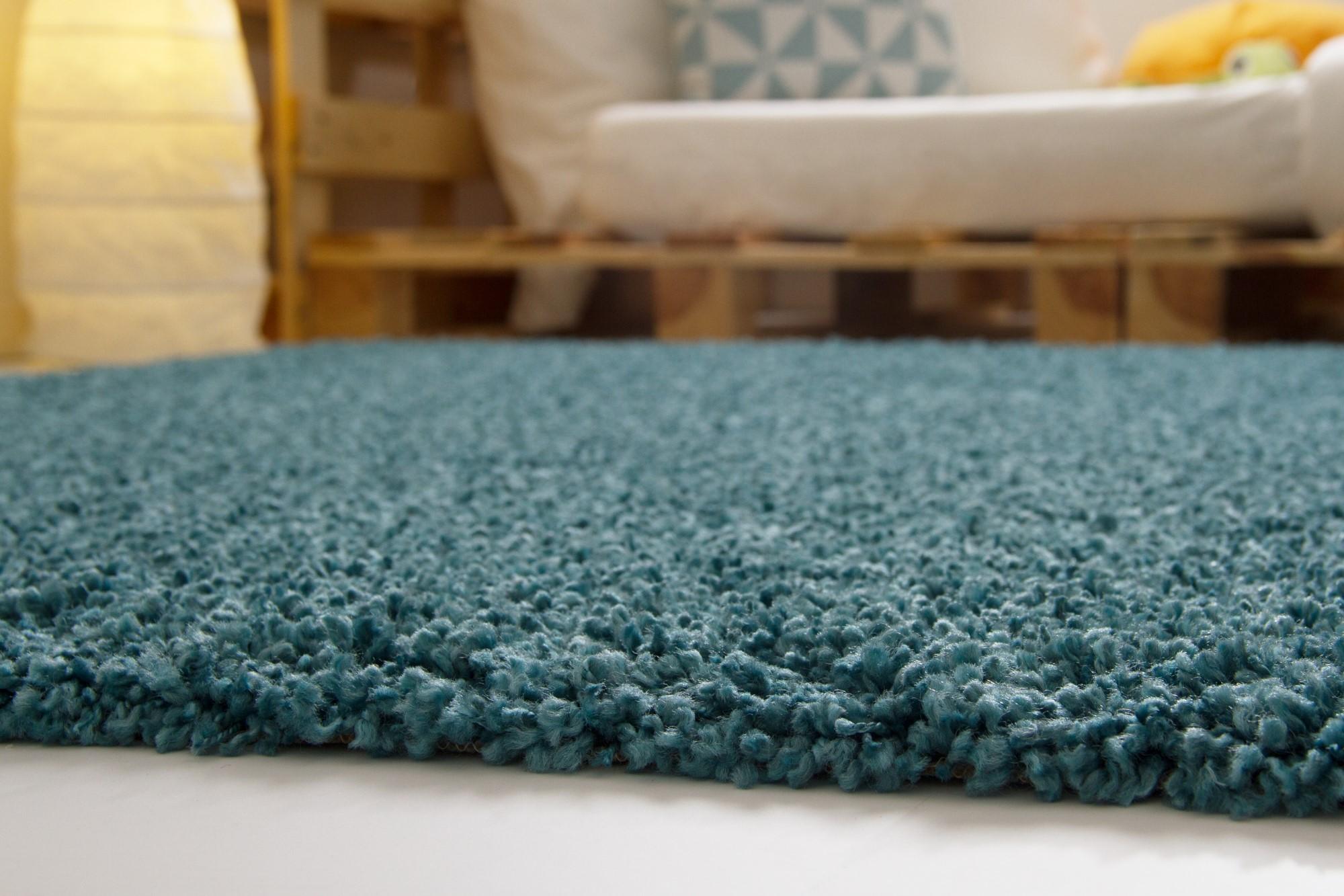 shaggy langflor hochflor teppich funny soft touch 6 farben 10 gr en ebay. Black Bedroom Furniture Sets. Home Design Ideas