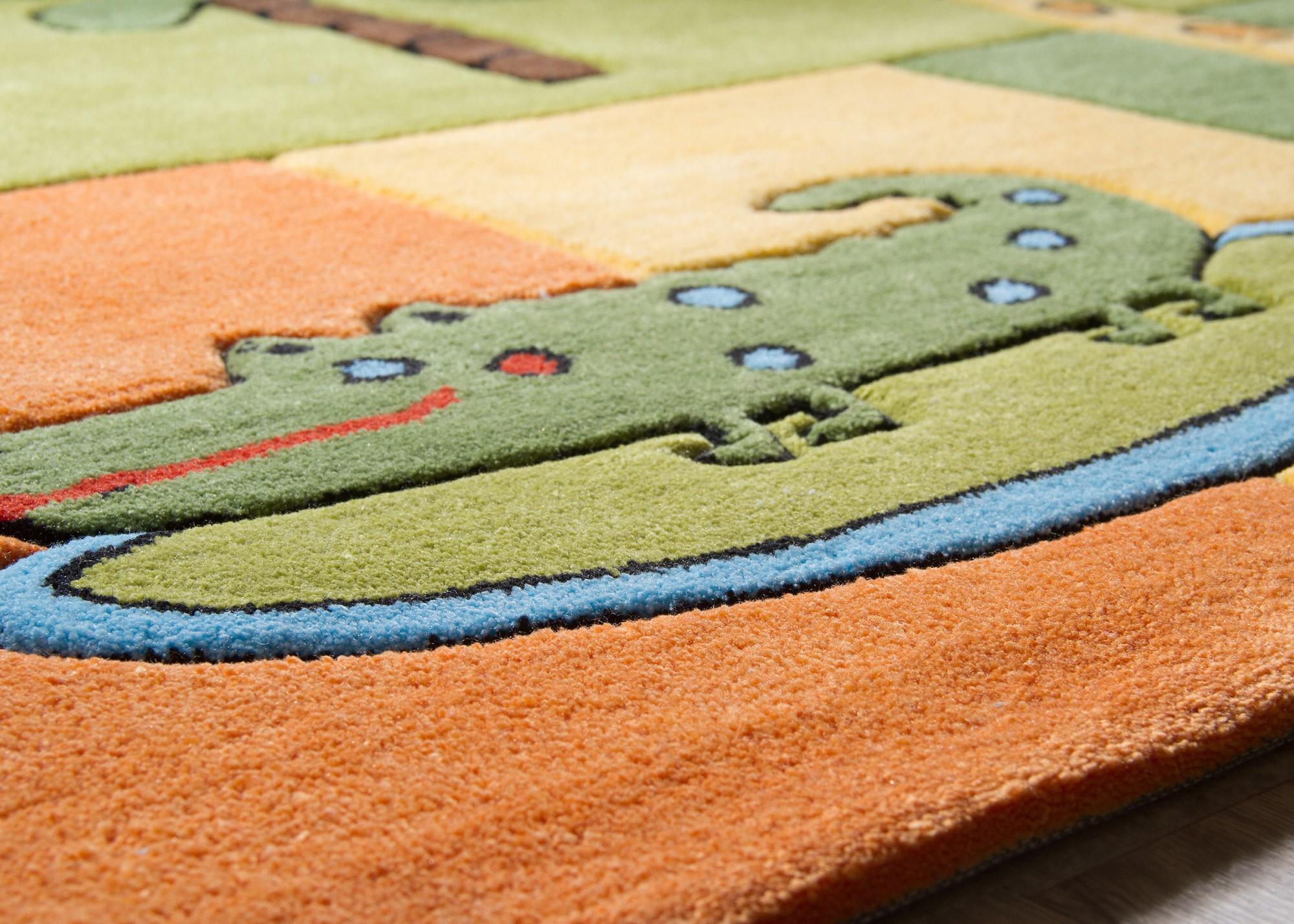 Theko Kinder Teppich Teppich Teppich Maui - Kinderteppich viele Motive und Farben - Öko-Tex Neu   Erlesene Materialien  f014f8