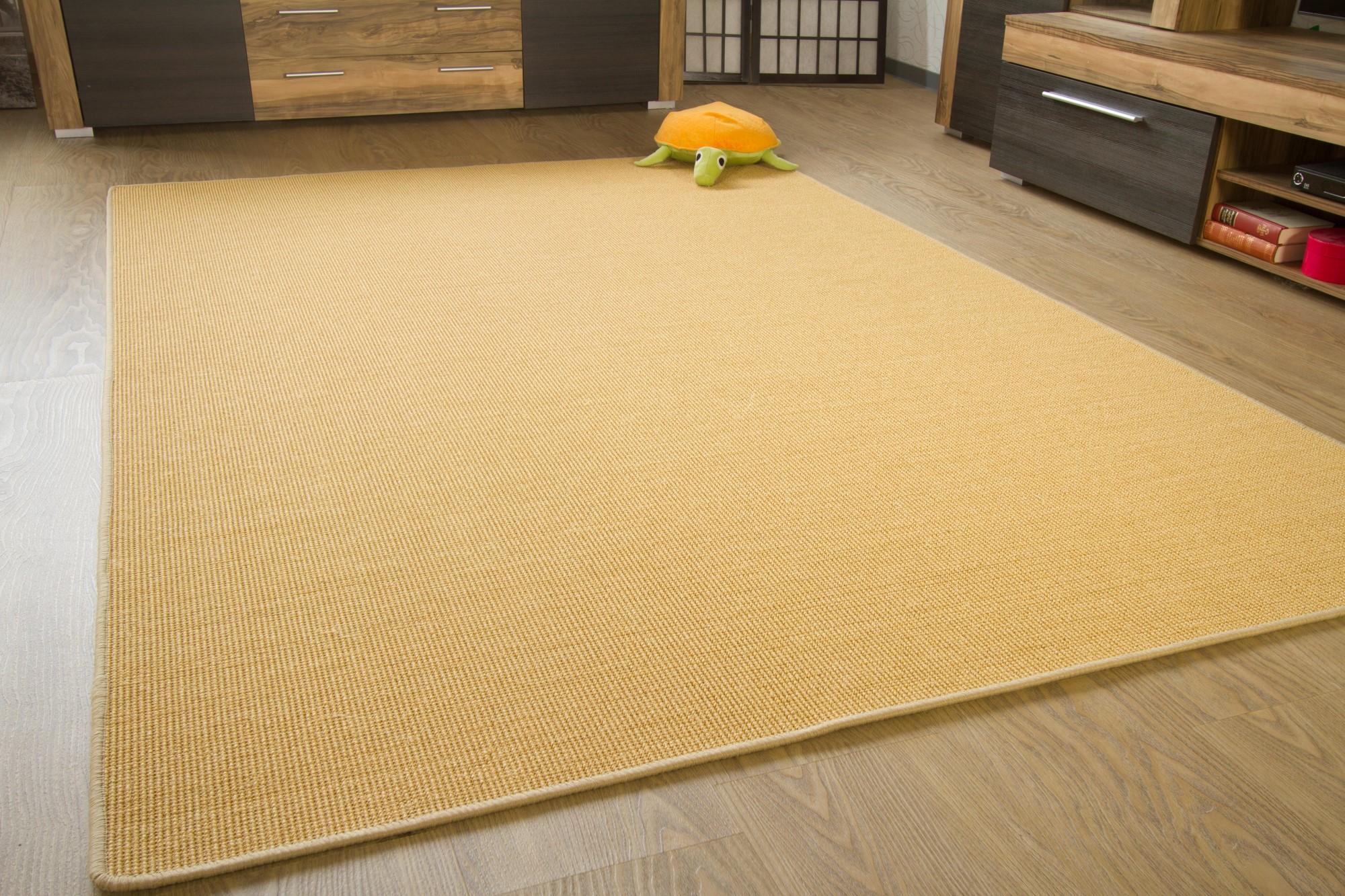 sisal teppich acapulco gekettelt zwei farben viele gr en aus 100 sisal ebay. Black Bedroom Furniture Sets. Home Design Ideas