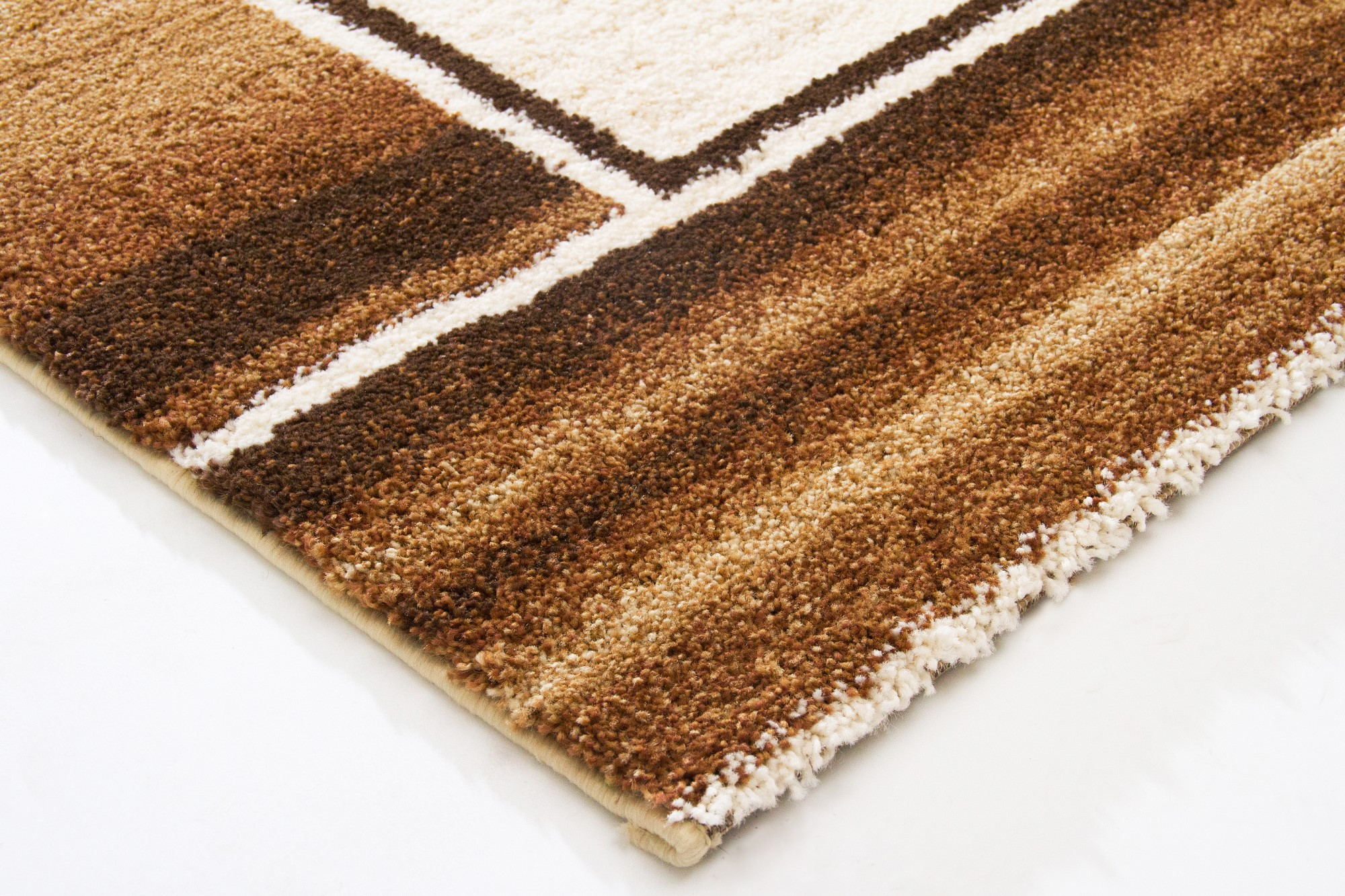 New Modern Rug Dijon Soft And Cosy Pile Cream Red Grey