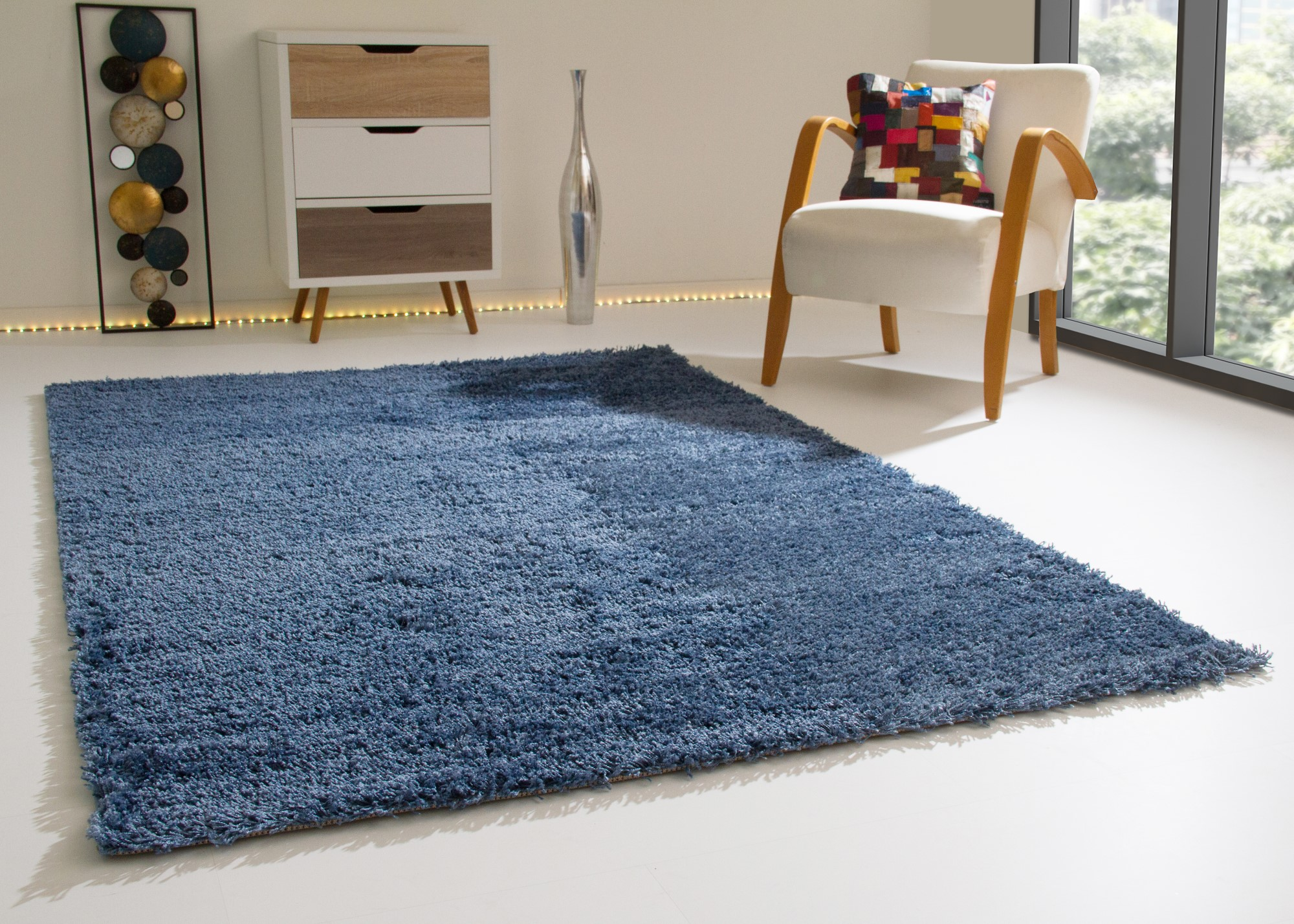 Shaggy Rug Happy Soft Pile Small Extra Large New Modern