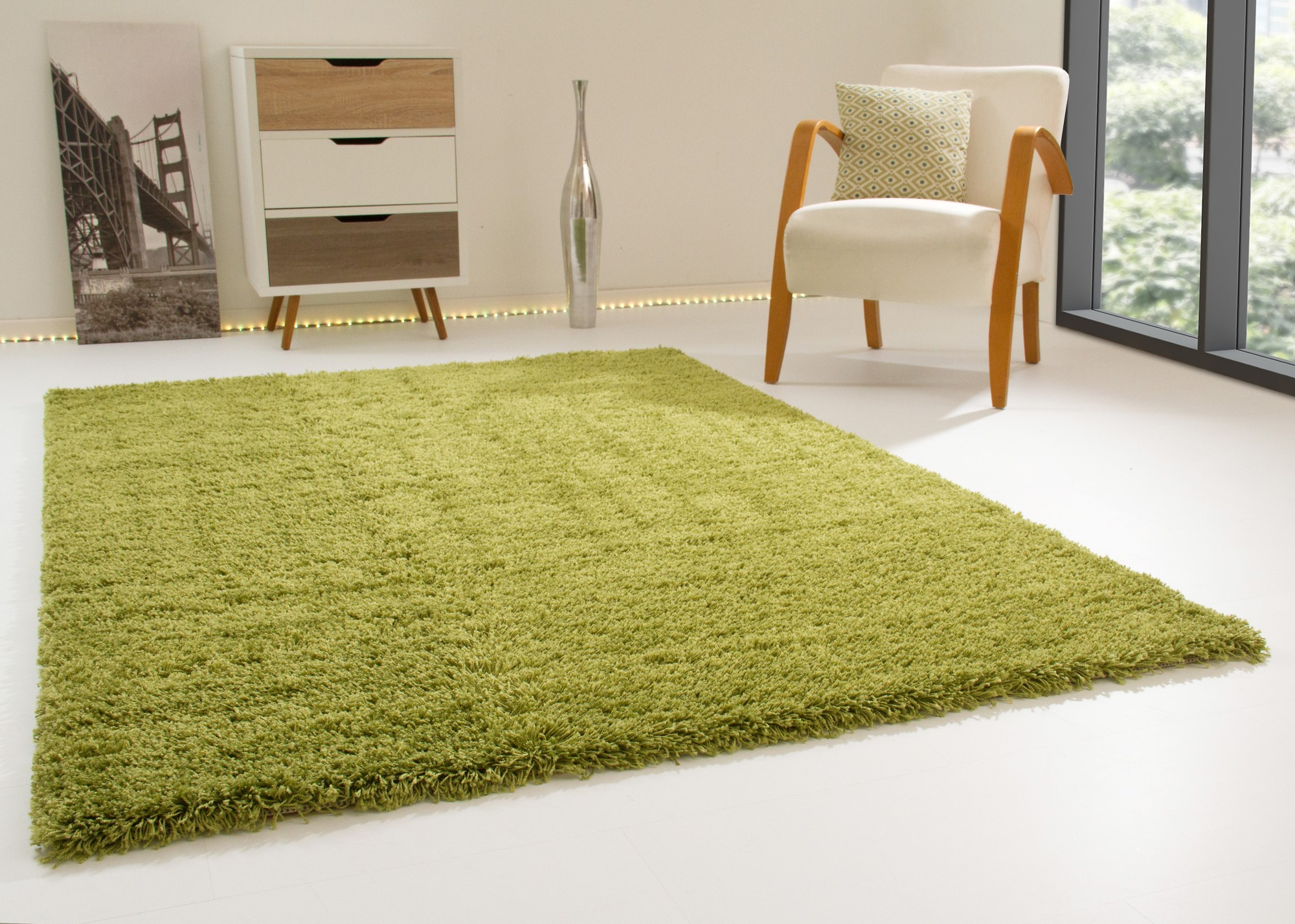 Shaggy Rug Happy Xl Thick Soft Pile Small Extra Large New
