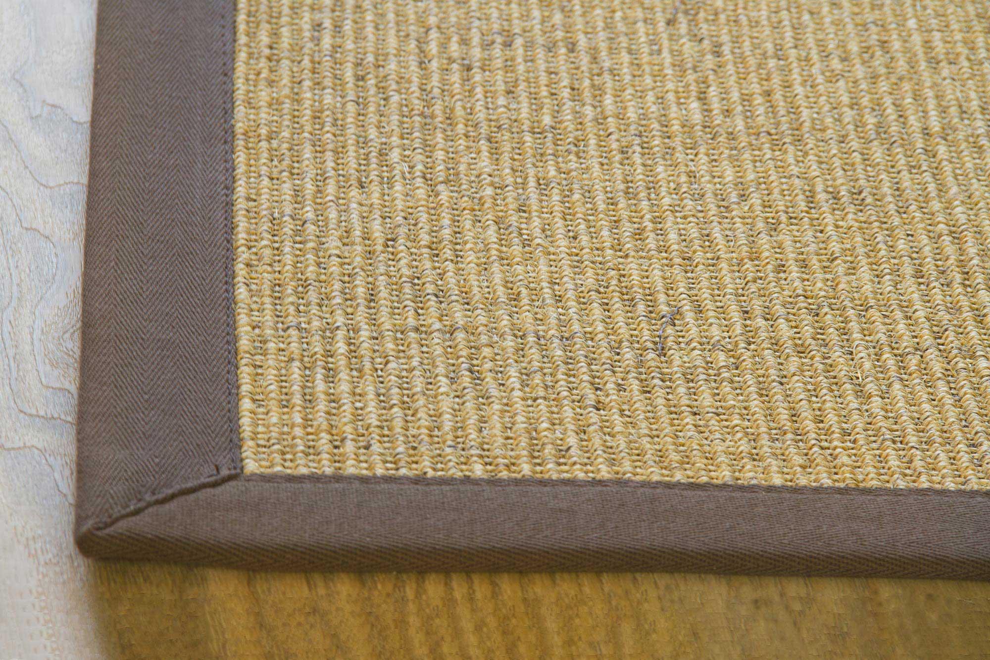 100 Natural Fibre Sisal Rug Brazil Cotton Border Antislip