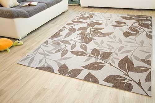 In- und Outdoor Teppich Gotland Design - Blumen