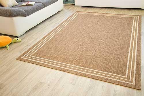 In- und Outdoor Teppich Gotland Design - Bordüre Linien