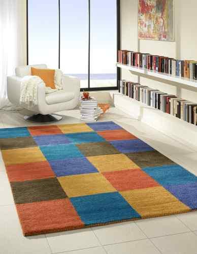 teppich quadrate bunt good kinder teppiche teppich with. Black Bedroom Furniture Sets. Home Design Ideas