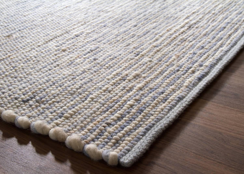 Wollteppich beige  Handweb Teppich Alpsee | global-carpet
