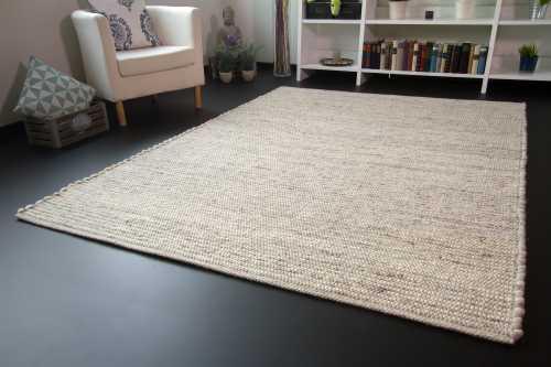Teppich uni grün handgemacht weiche soft touch wohnzimmer tapis