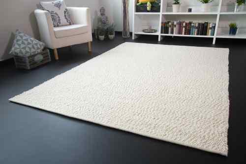 Teppich weiß  Handwebteppich | Handwebteppiche aus Schurwolle & Baumwolle
