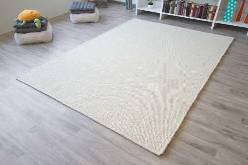 Baumwollteppich weiß  Handwebteppich | Handwebteppiche aus Schurwolle & Baumwolle
