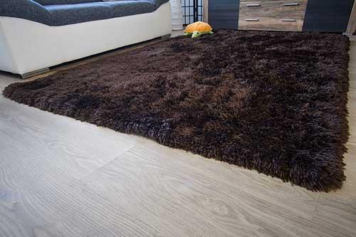 Hochflor Teppich Flokator