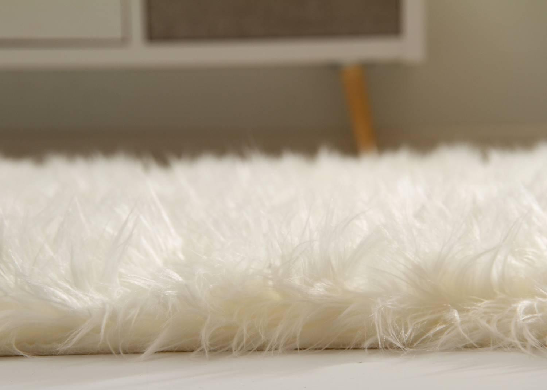 Hochflor Teppich Senja