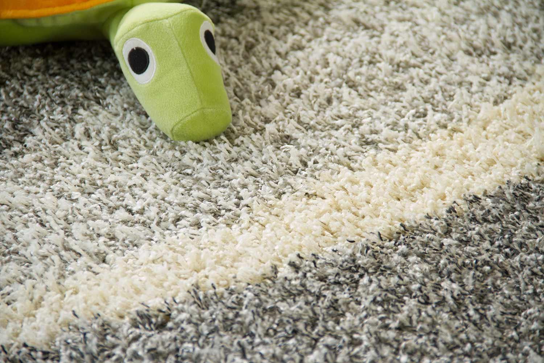 Hochflor Teppich Funny Design Welle  global carpet