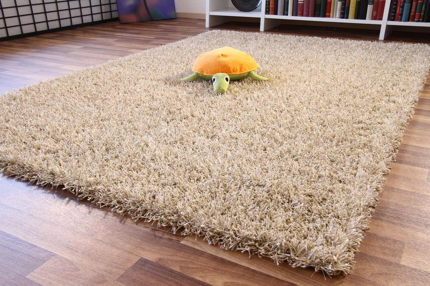 Flauschiger teppich  Hochflor Teppich Happy XL | global-carpet
