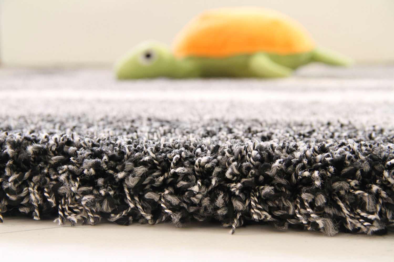 Hochflor Teppich Funny XXL  Welle  globalcarpet