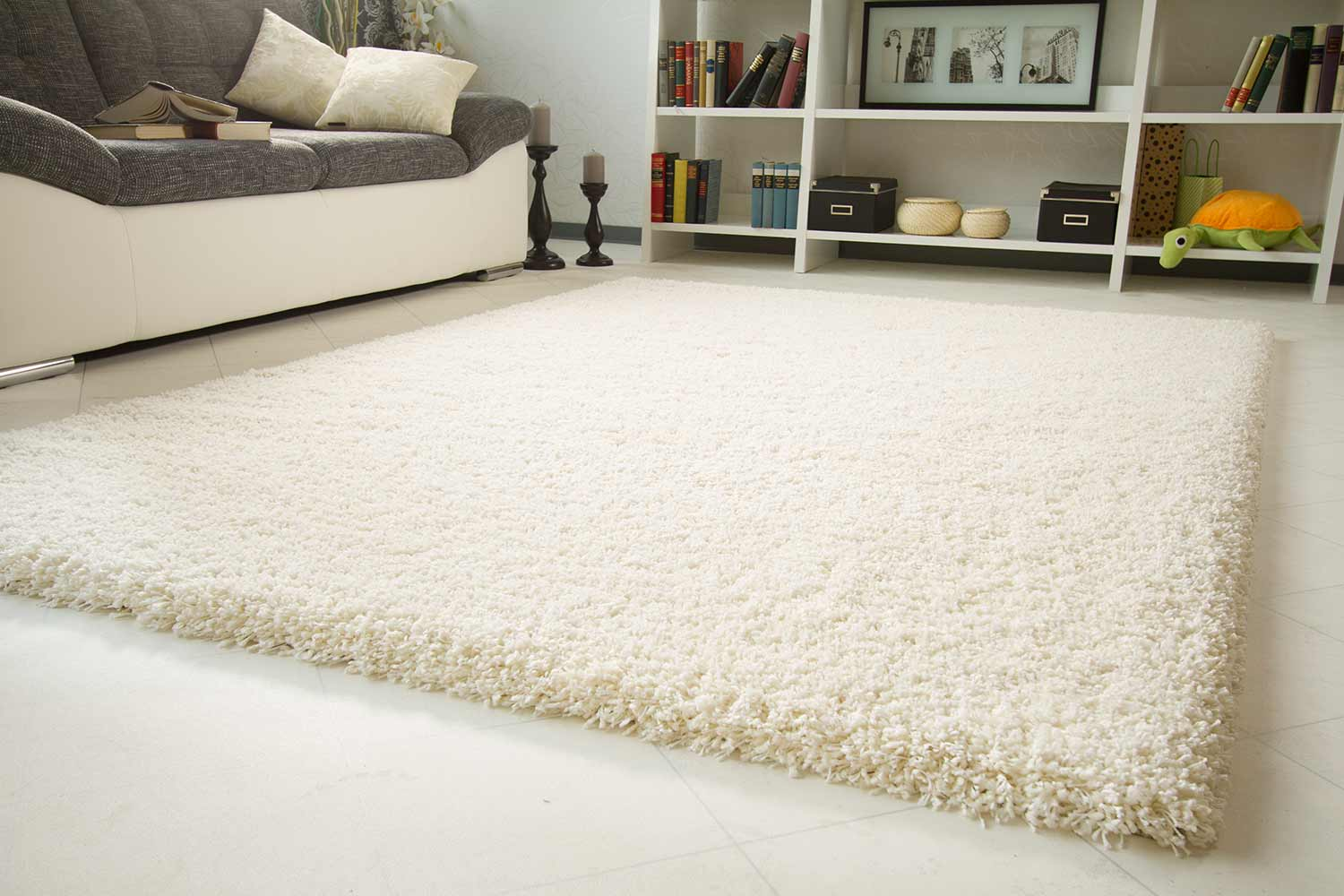 Teppich design weiss  Hochflor Teppich Tom Tailor - Soft | global-carpet