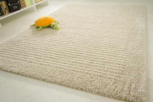 Hochflor Teppich Struktur