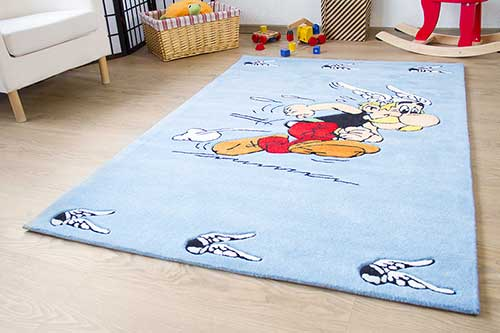 Kinderteppich Asterix - Flitzender Asterix