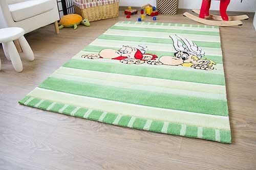 Kinderteppich Asterix - Asterix und Obelix