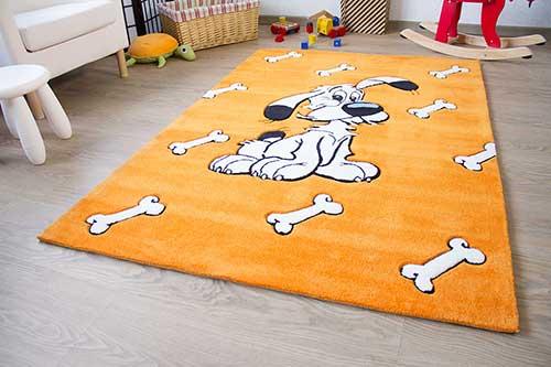 Kinderteppich Asterix - Knochenregen