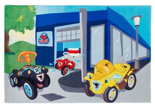 Kinderteppich Big Bobby Car - Carwash