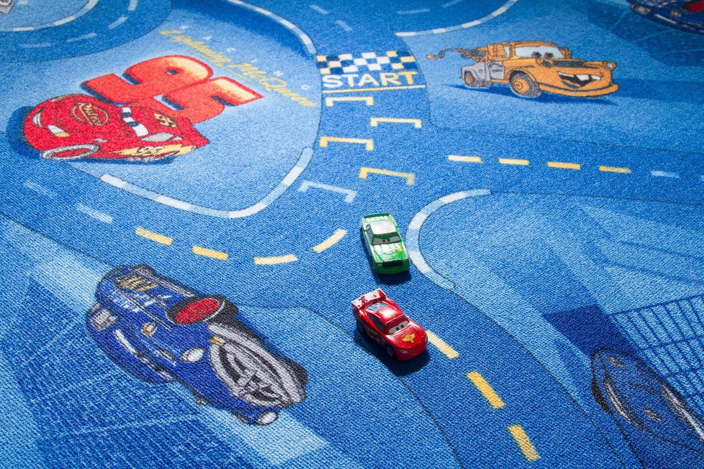 Kinderteppich Cars - Lightning McQueen
