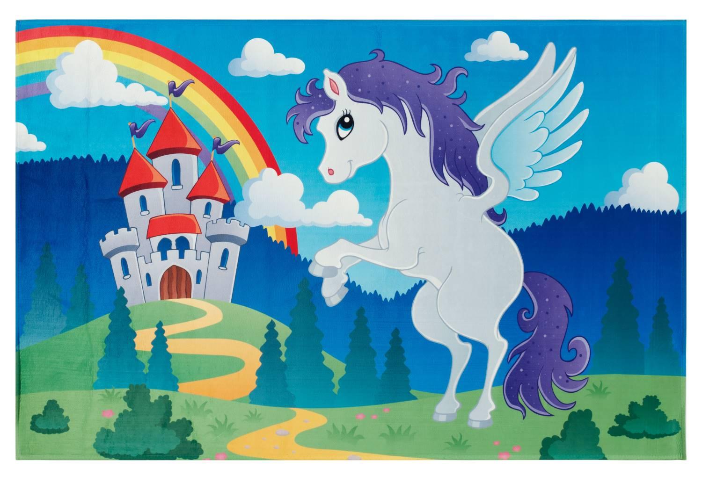 Kinderteppich Lovely Kids - fliegendes Pferd