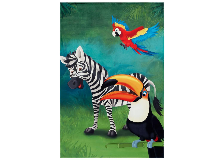Kinderteppich Lovely Kids - Dschungel