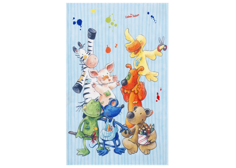Kinderteppich Die Lieben Sieben - Basteln