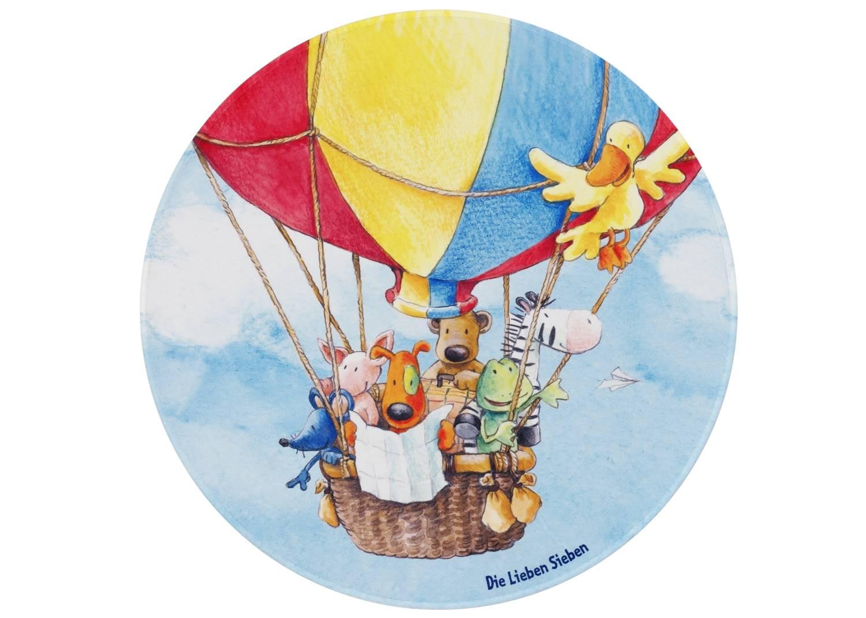 Kinderteppich Die Lieben Sieben Ballon