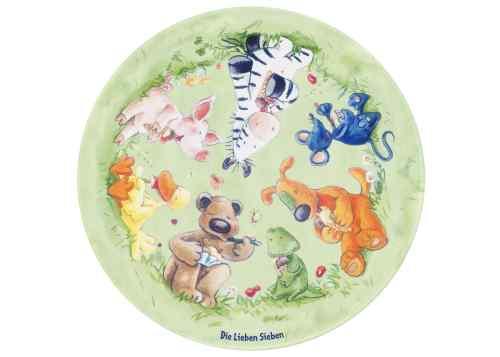 Kinderteppich Die Lieben Sieben - Eis