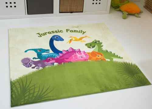 Kinderteppich Jurassic Family