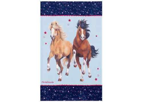 Kinderteppich Pferdefreunde
