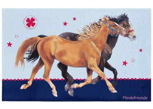 Kinderteppich Pferdefreunde - Pferdeglück