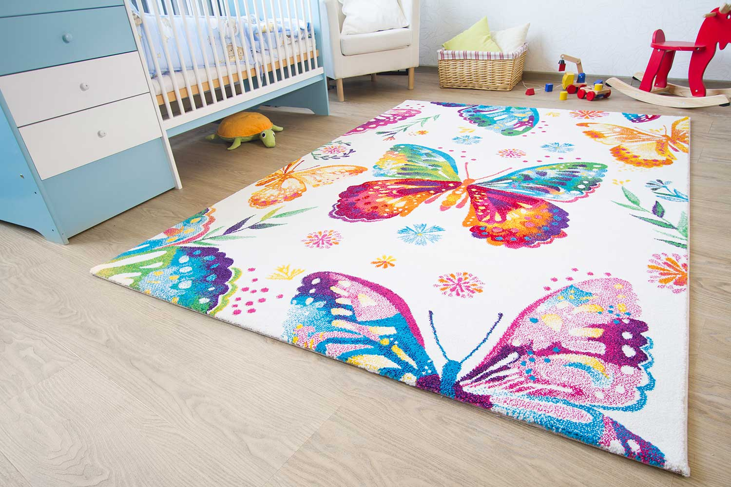 kinderteppich little carpet vogel theo global carpet. Black Bedroom Furniture Sets. Home Design Ideas