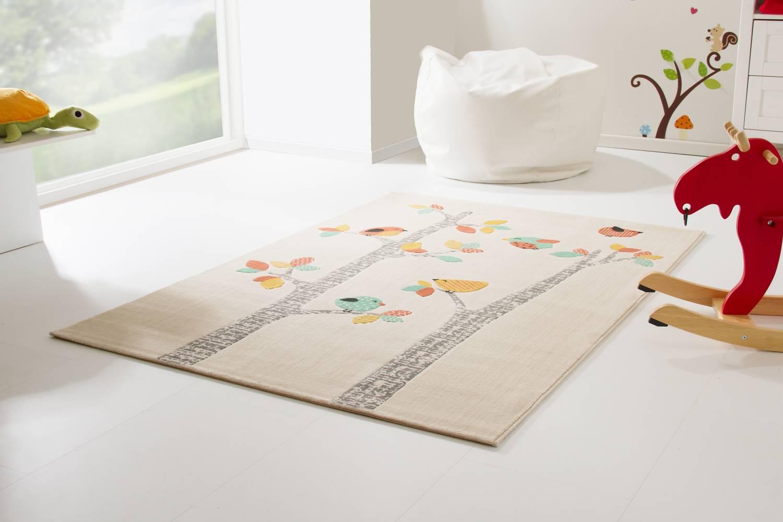 Kinderteppich Samui - Vögel