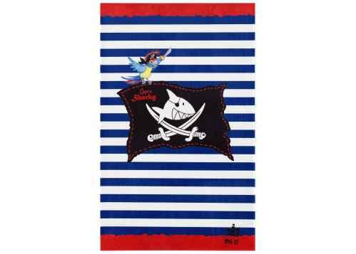 Kinderteppich Captn Sharky - Streifen