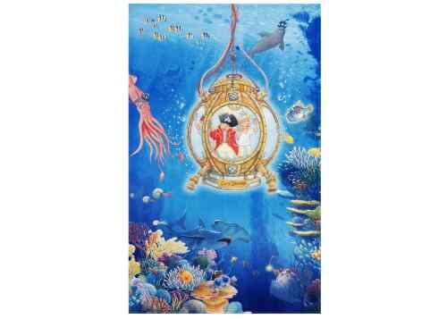 Kinderteppich Captn Sharky - Unterwasserwelt