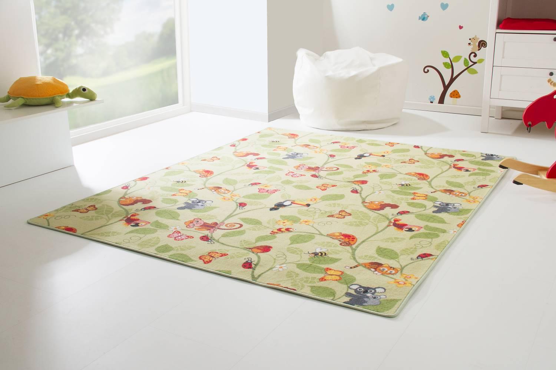 Kinderteppich grün rosa  Kinderteppich City - Straßen- und Spielteppich | global-carpet
